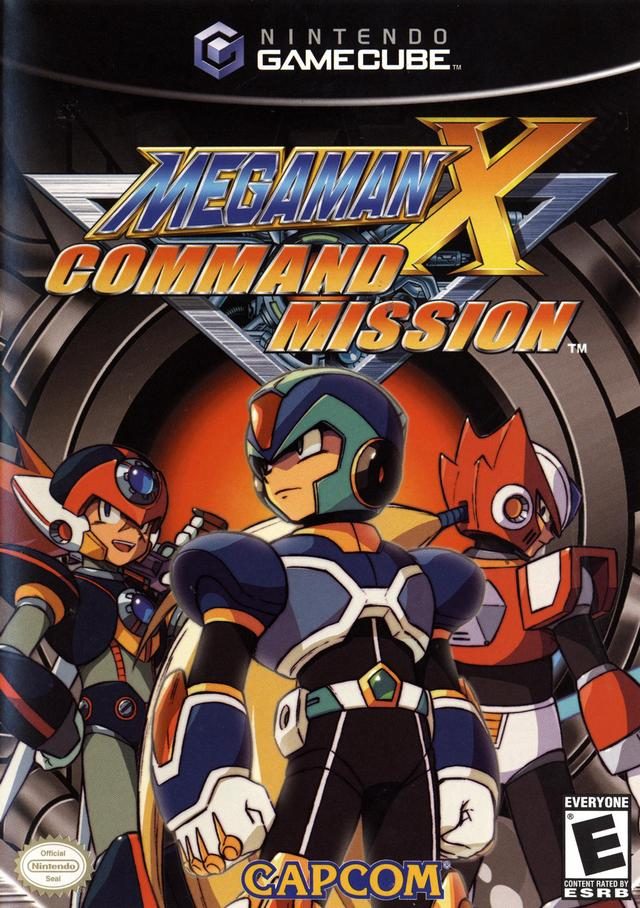 Mega man x command mission justrpg