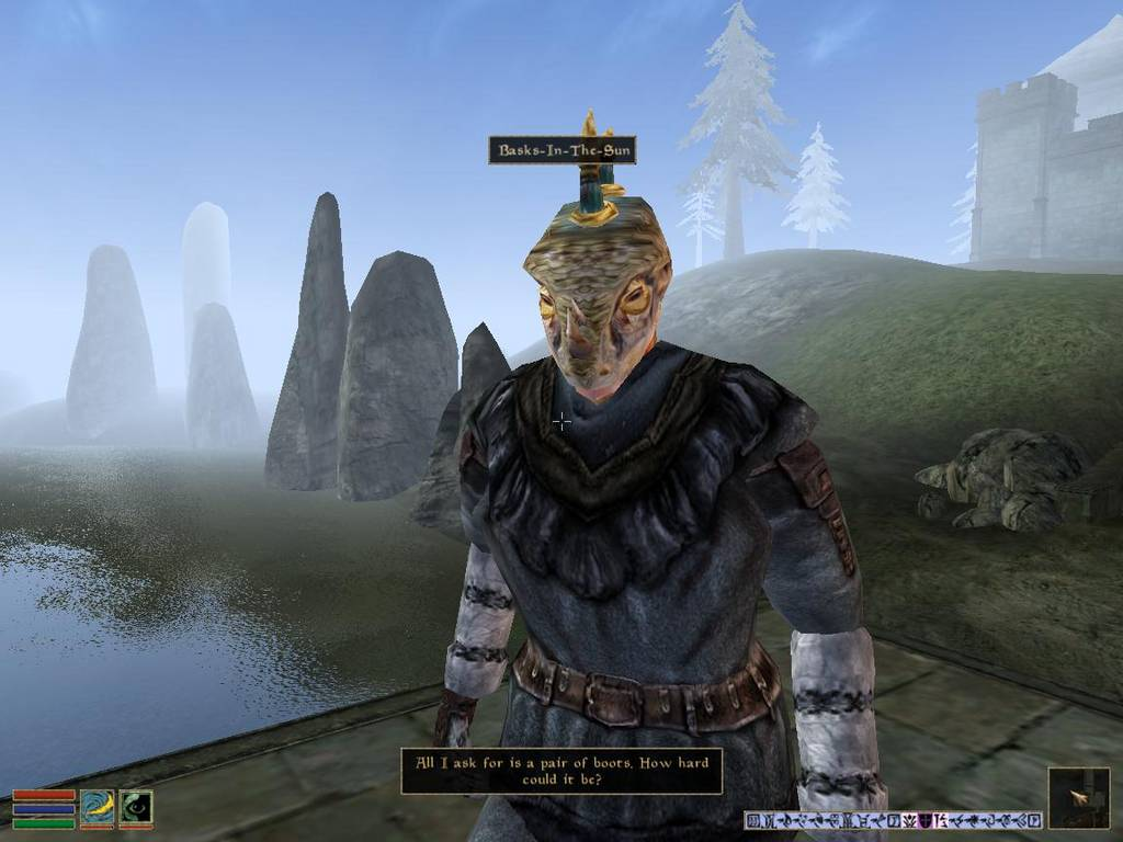 Elder Scrolls III: Bloodmoon JustRPG