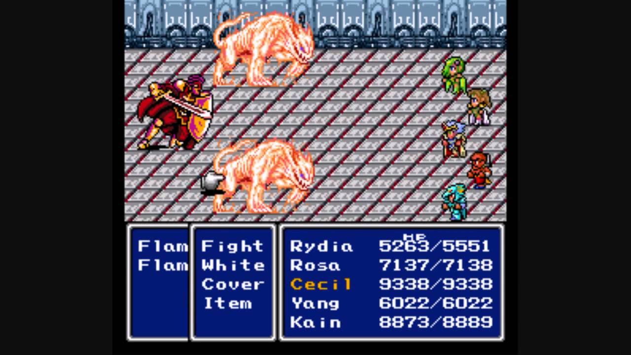 Revolutionary RPGs -final-fantasy-IV
